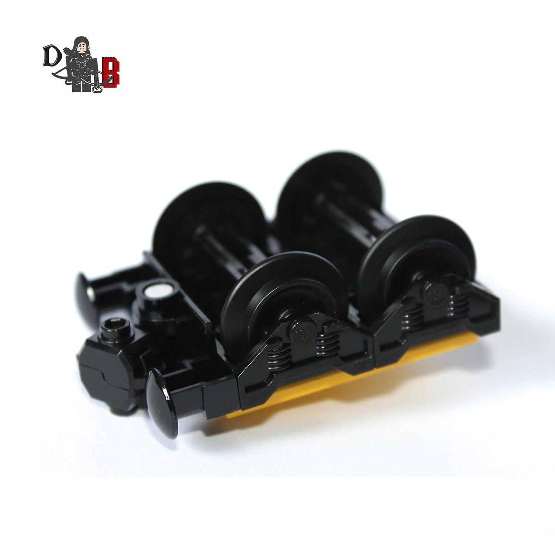 LEGO Personnalis/é City Train engin bogey petit avec tampon /& roues pour chariots 60051