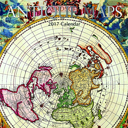 80off antique maps of the world 2017 monthly wall calendar 12 x 80off antique maps of the world 2017 monthly wall calendar gumiabroncs Images