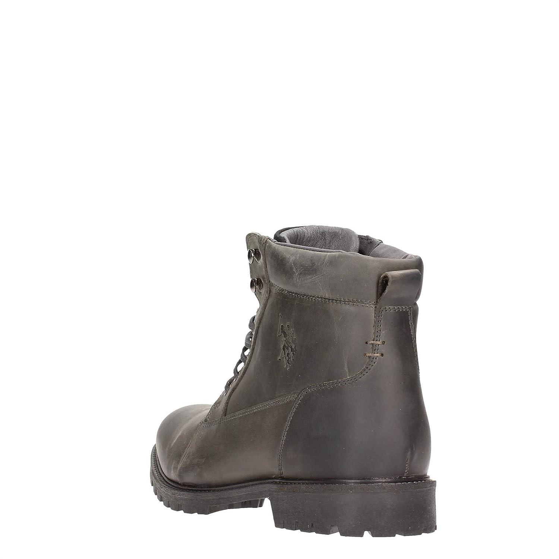 U.S. Polo Assn. ROVER4088W4/L2 Botines Hombre Cuero Gris 45: Amazon.es: Zapatos y complementos