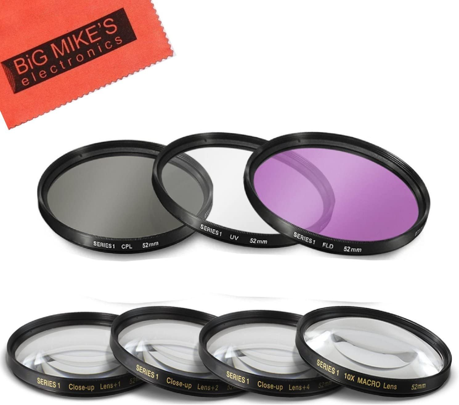 ND8 ND Neutral Density Motion Blur Shutter Speed Filter for Canon EF-S 24mm f//2.8 STM Lens