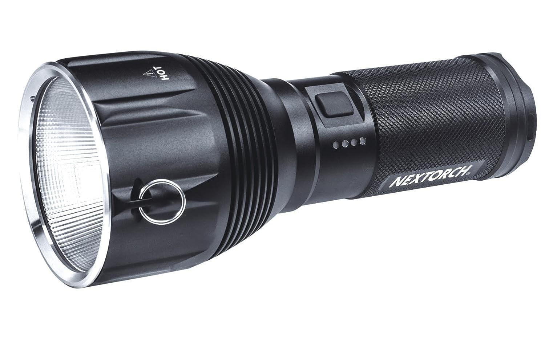 NEXTORCH Saint Torch 10 3200 lm High Performance LED Taschenlampe, schwarz, One Größe