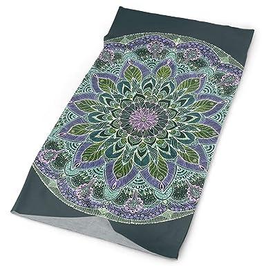 Zara-Decor Pasamontañas con diseño de mandala en la oscuridad ...