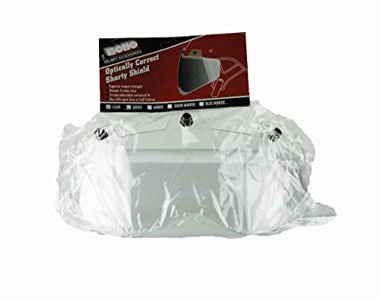 bb4cfef4 Amazon.com: Echo Shorty 3 Snap Shield for Motorcycle Helmet (Clear):  Automotive