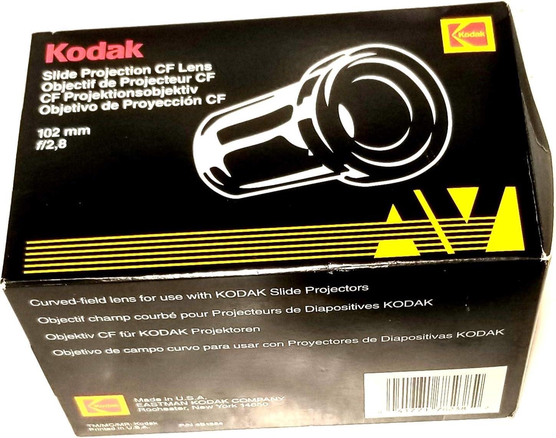 Kodak 102mm f/2.8 Ektanar C Lens for Kodak Carousel and Ektagraphic Slide Projector