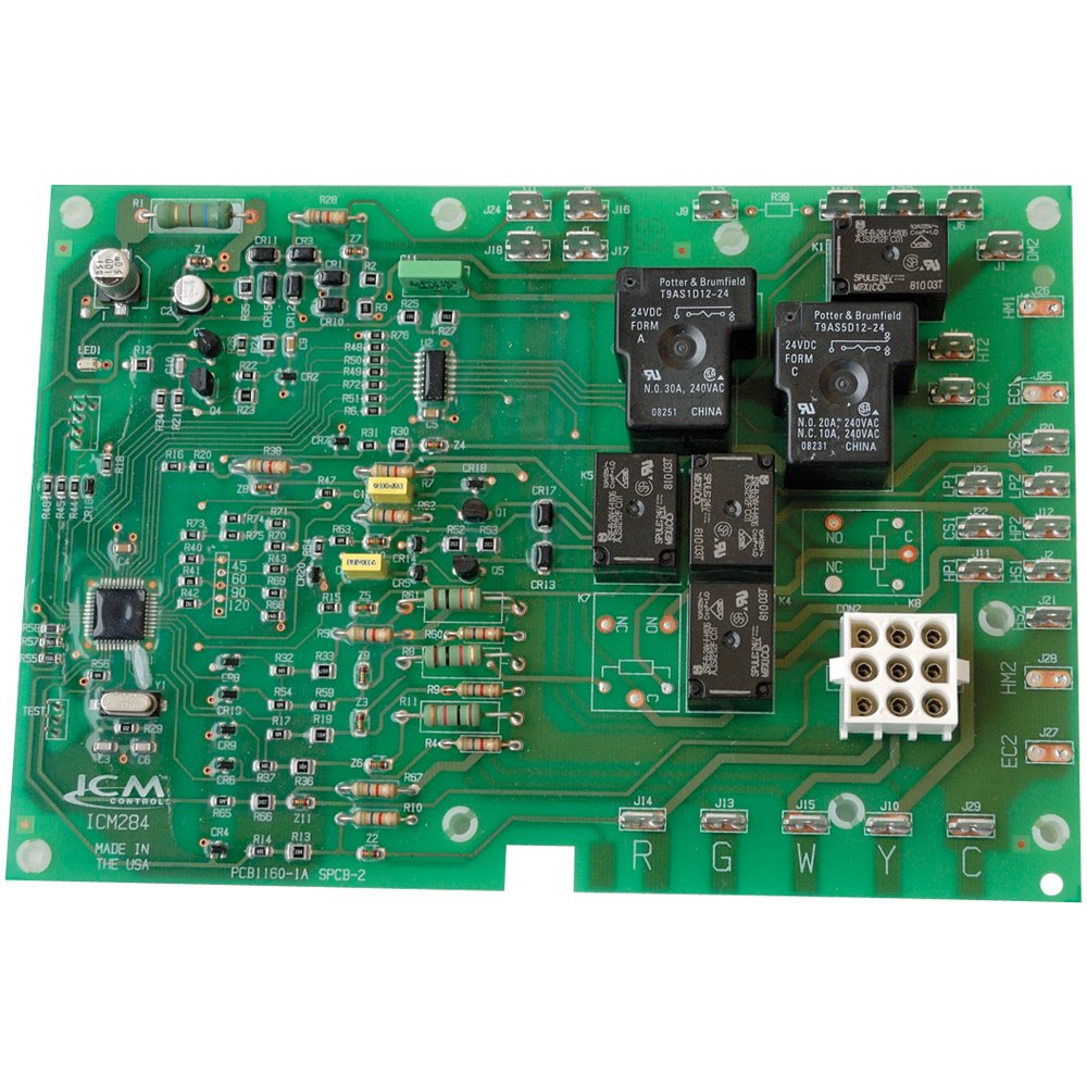 ICM Controls ICM284 Furnace Control Replacement for York 03101280000 Control Boards 10730