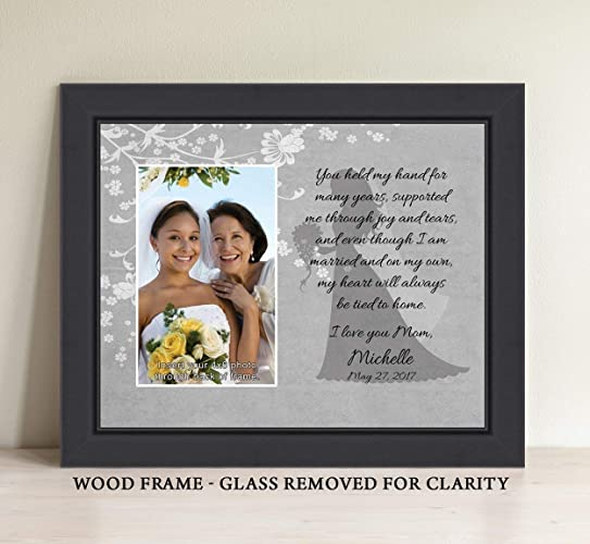 Amazoncom Personalize Mother Of The Bride You Held My Hand Picture
