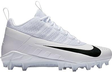 buy online 7e2a6 584d3 Nike Men s Alpha Huarache 6 Pro Lax Lacrosse Cleat White Black Size 9.5 ...