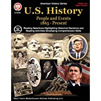 Mark Twain Media | US History 1865–Present Resource Workbook | 6th–12 Grade, 96pgs (American History)