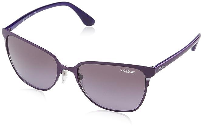 Vogue Gafas de sol Mod.3962S Matte brushed violet/, 56 ...
