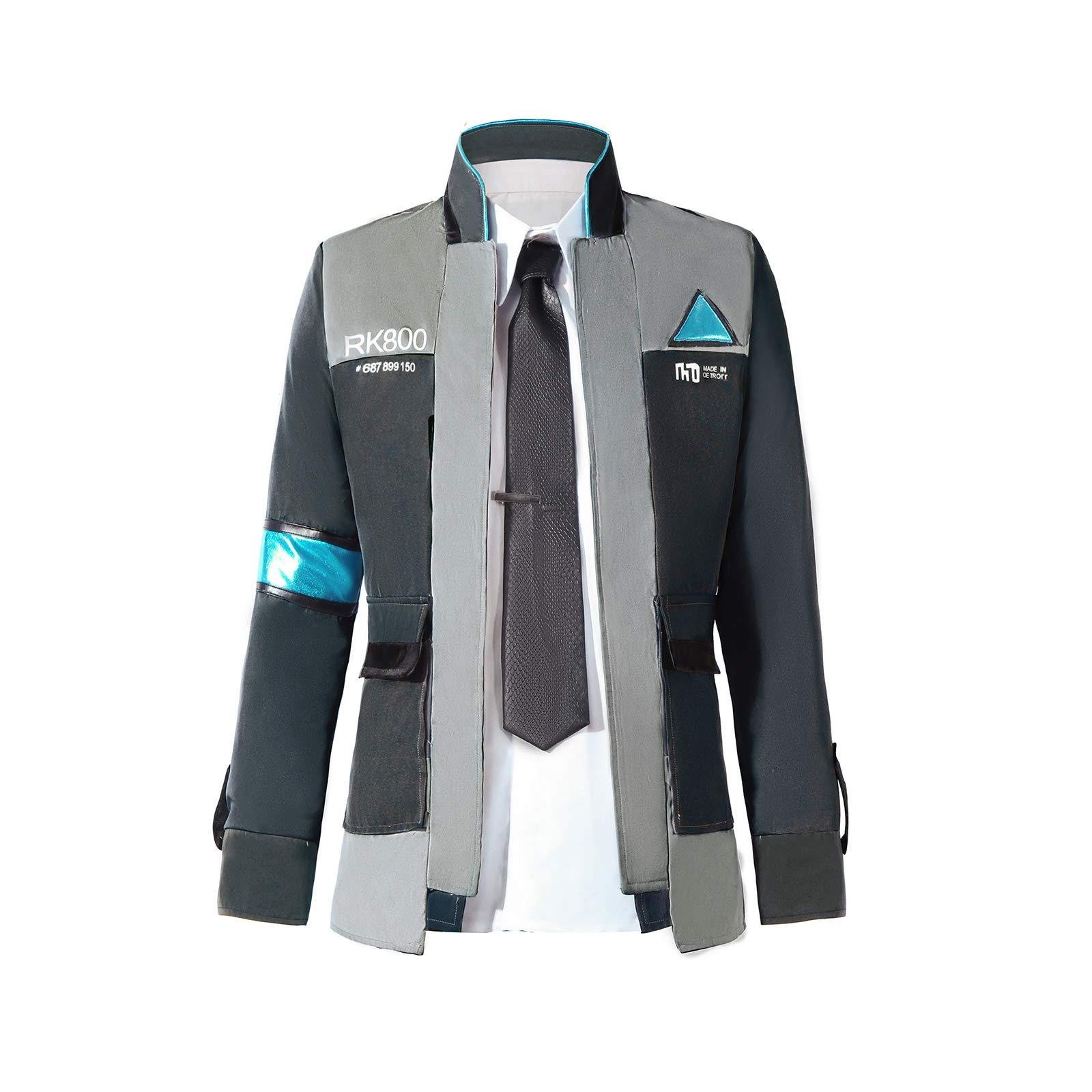 sandybeibei Become Human Cosplay Costume Mens Coat Uniform Suit by sandybeibei