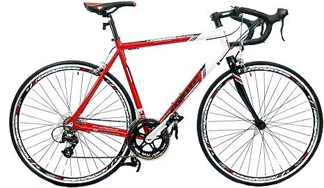 Coyote - Bicicleta, Talla S (160-165 cm), Color Negro/Rojo: Amazon ...