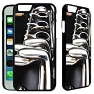 Clarinet Musical Instrument iPhone 6 / 6S Plastic Case - [TeleSkins] - Ultra Durable & Protective Hard Plastic iPhone 6 / 6S Back Case / Cover - [iPhone 6 / 6S case (4.7 inch)]
