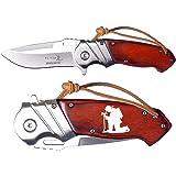 Elkridge 3.5'' Spring Assisted Folding Pocket Knife ERA003SW Fireman's Prayer