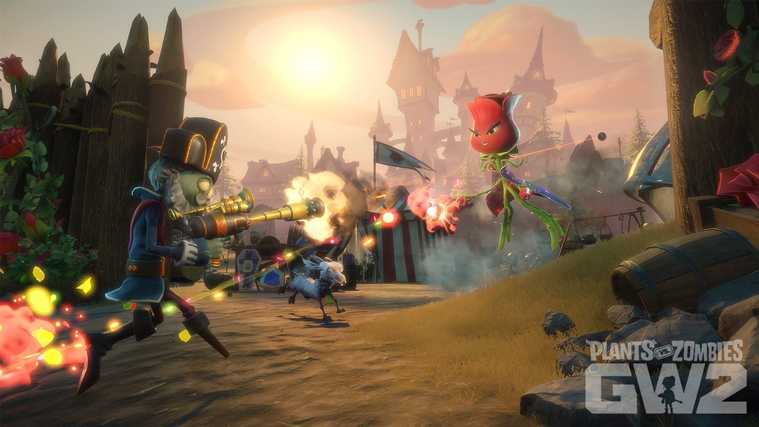 Plants vs Zombies GW2 - top de zombies