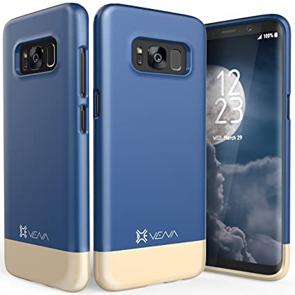 Amazon.com: Galaxy S8 Plus Caso, Vena [iSlide] [Two-Tone ...