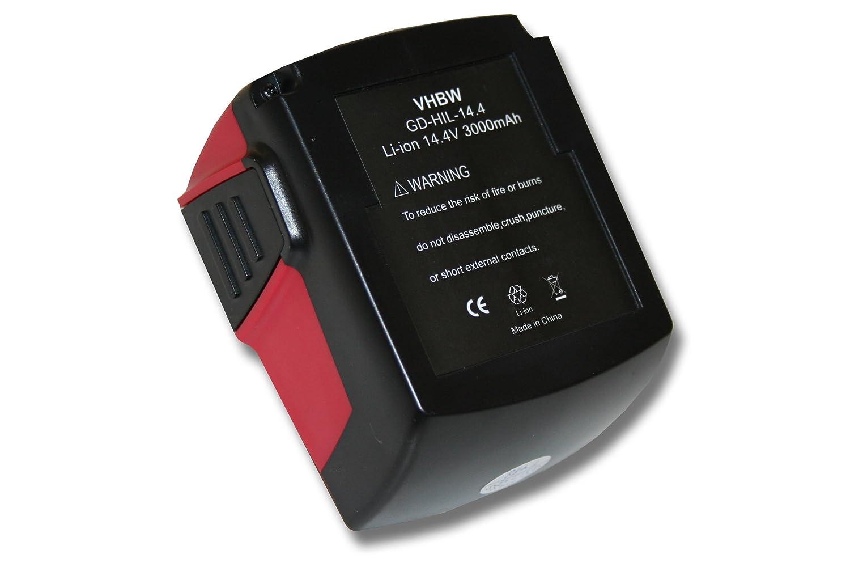 vhbw batería Li-Ion 3000mAh (14.4V) para herramientas SFL ...