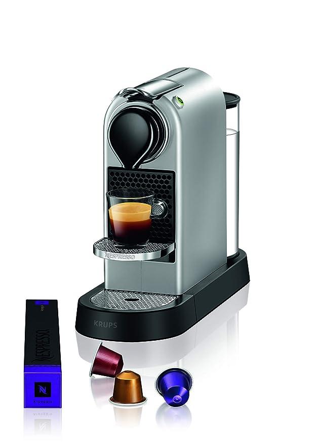 Nespresso XN741B Silver EU, Acero Inoxidable, Citiz Gris: Amazon ...