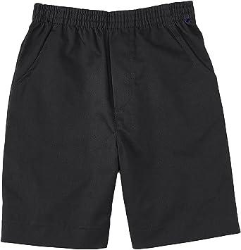 Amazon.com: unik Boys All Elastic Waist Pull up Shorts Navy Khaki Black  Hunter Green Blue: Clothing