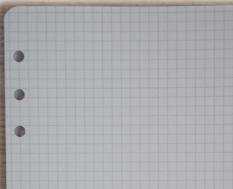 200 pages blanches Recharge A5 pour organiseurs /à 6 Anneaux