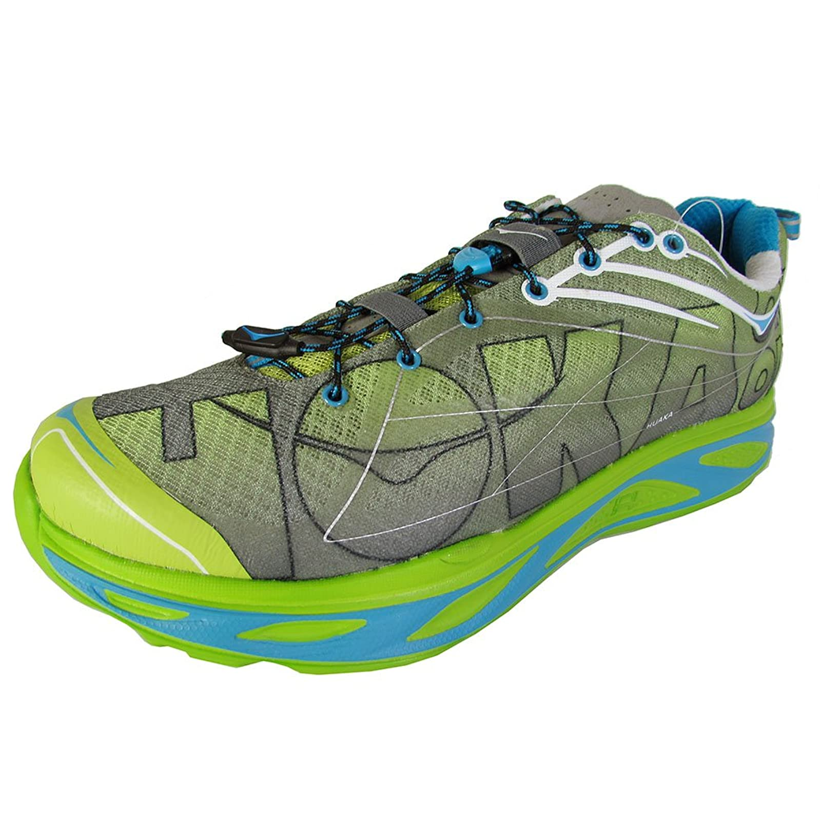 HOKA ONE ONE Mens Huaka Running Sneaker Shoe 8 M US - 3