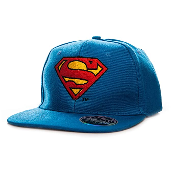 Superman - DC Comics Officially Licensed - Gorra Logo Bordado ...