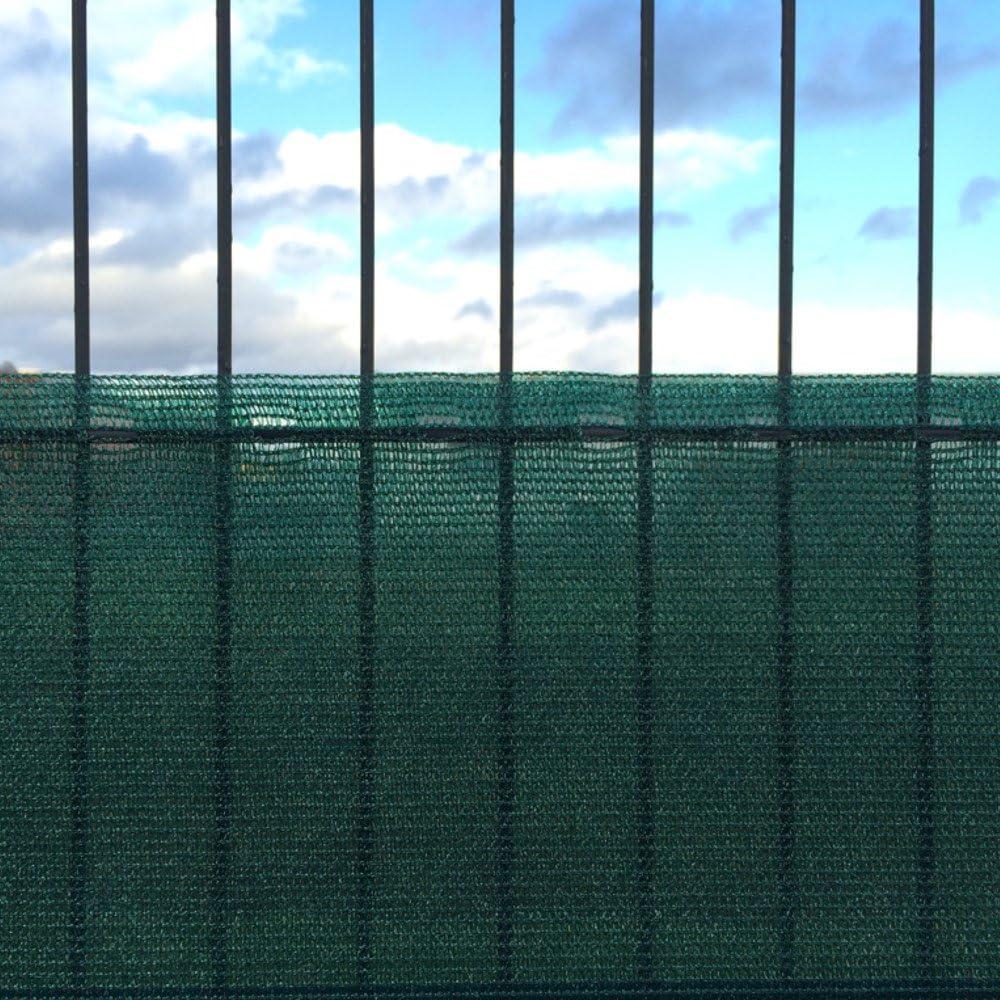 KLASEBO Zaunblende Sichtschutz Windschutz Sonnenschutz Tennisblende Staubschutz Netz 1 x 6 m