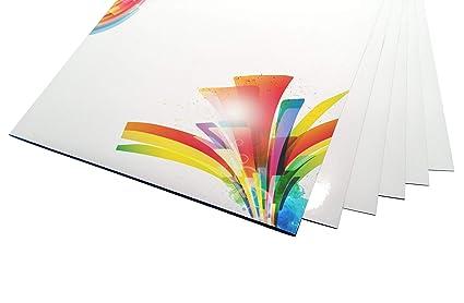 100 hoja de papel de impresión de etiquetas autoadhesivo A4 hojas ...