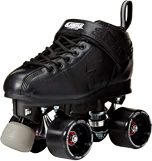Crazy Skates Zoom Speed Roller Skates | High Performance Speed Wheels and Bearings | Black