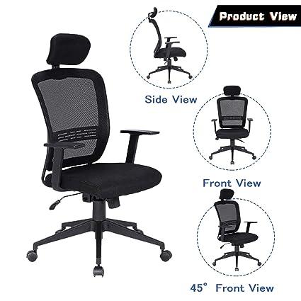 Prime Amazon Com Squadise Ergonomic Desk Chair Mesh Computer Home Interior And Landscaping Ologienasavecom