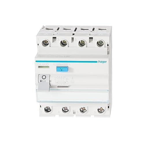 Hager CDA440D FI-Schalter 40A 30mA A-Typ 4-polig: Amazon.de: Baumarkt