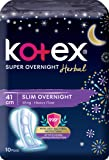 Kotex Super Overnight Herbal 41cm