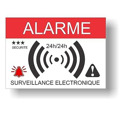 Pegatinas dissuasifs alarma - Monitoreo electrónica - Juego ...