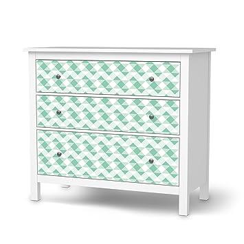 Möbeldeko Für IKEA Hemnes Kommode 3 Schubladen | Möbelfolie Klebesticker  Tapete Folie Möbel überkleben | Wohnen