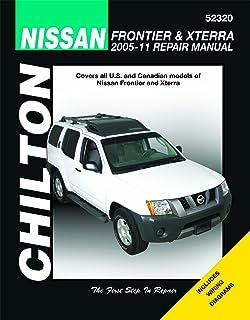 amazon com chilton 52320 05 14 nissan frontier xterra automotive rh amazon com 2005 Xterra Interior 2005 Nissan Xterra Fuse Box Diagram