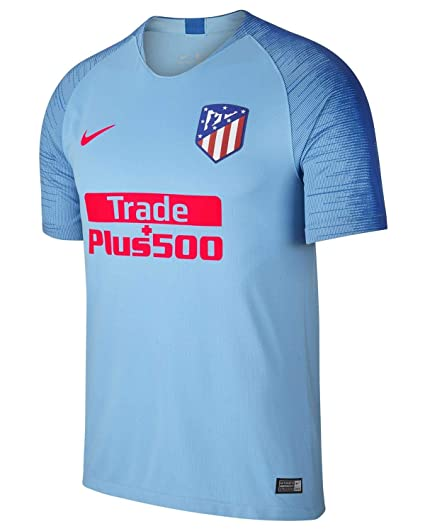 Image Unavailable. Image not available for. Color  Nike 2018-2019 Atletico Madrid  Away Football Soccer T-Shirt Jersey 8857a521f