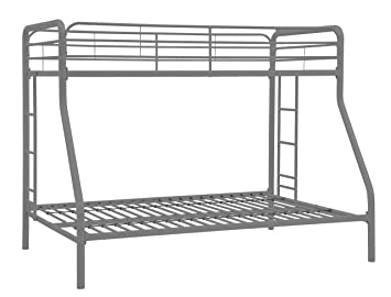 dorel home products bunk bed silver