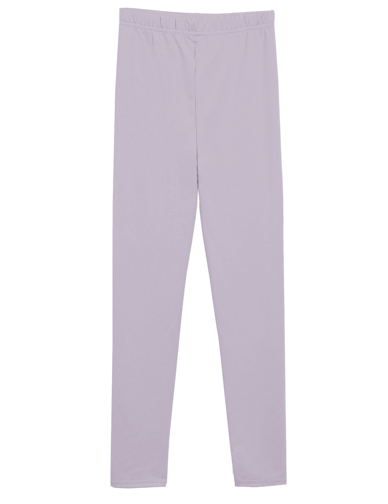 Arshiner Little Girls Solid Color Leggings Tights, Gray, 100 (for ages 7-8 years)