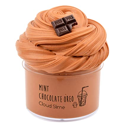Dorothyworld 2018 Newest Chocolate Coffee Butter Slime ,Sludge Scent Toy For Boys And Girls(7oz) by Dorothyworld