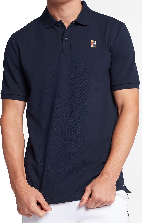 Nike nkct Heritage Polo–Polo Homme, bleu–(Obsidian/White) - XXL