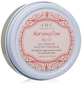 FarmHouse Fresh Marshmallow Melt All-Purpose Shea Butter Balm, 1.25 Fl Oz