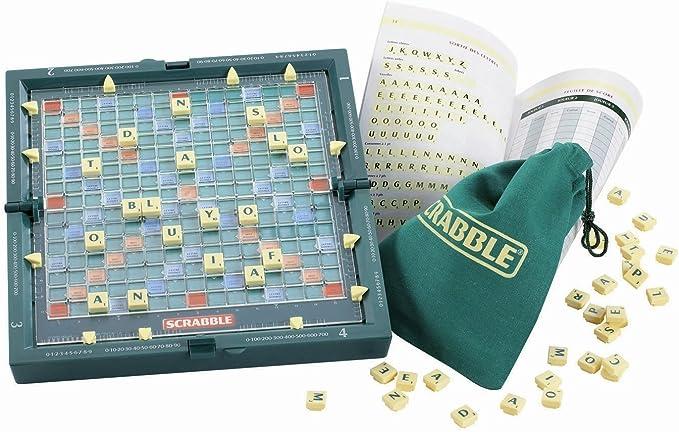 Mattel Scrabble magnético de Viaje [versión en inglés]: Amazon.es: Juguetes y juegos