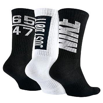 Nike 3PPK DRI-FIT Fly V4 Crew (S,M) Pack 3 Pares de Calcetines, Hombre, Rojo, M: Amazon.es: Deportes y aire libre