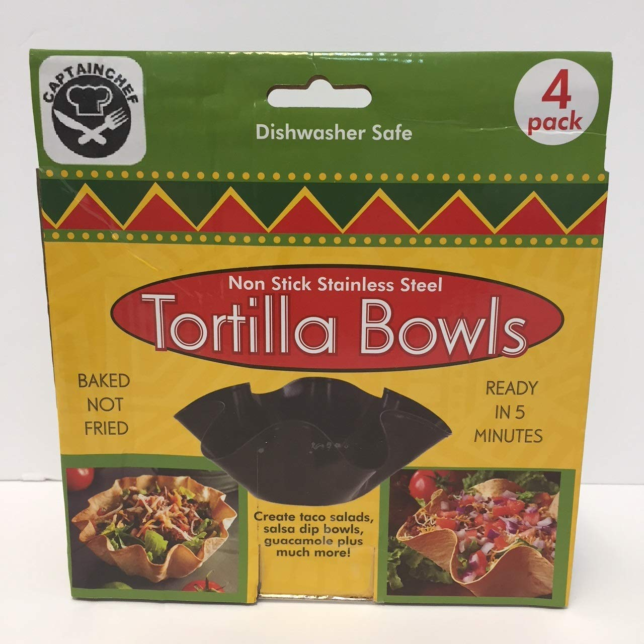 Tortilla Pan Set Non Stick Steel Set of 4 by Chefcaptain (Image #4)