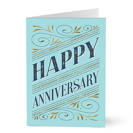 hallmark work anniversary card elegant work anniversary pack of 25 greeting cards for - Work Anniversary Cards