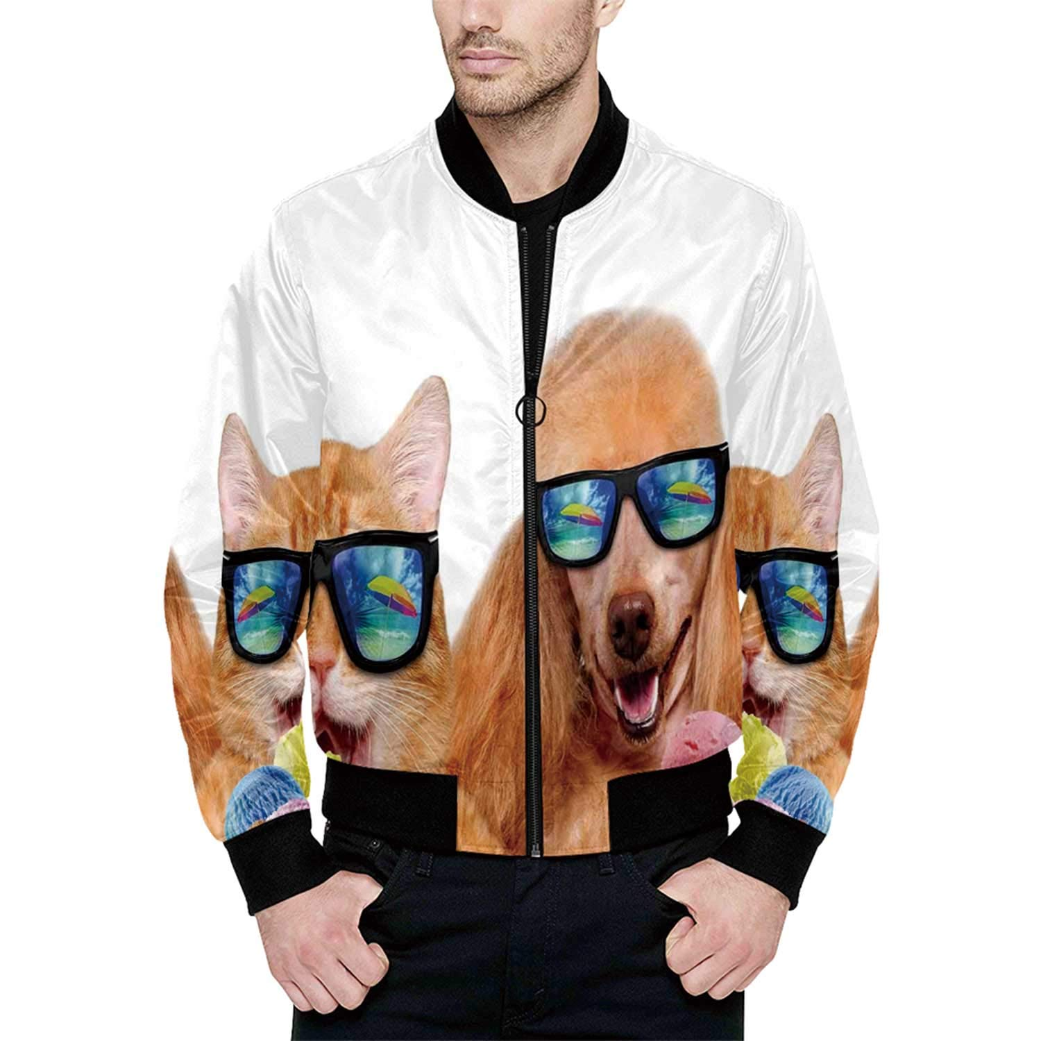 Animal Cool Bomber Jacket for Sport M by Hitecera