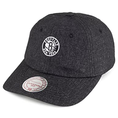 39e8dbc2f78 Mitchell   Ness Brooklyn Nets Baseball Cap - Melange - Charcoal Adjustable