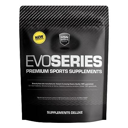 Caseína Micelar de HSN Sports - Evocasein 2.0 - Proteína para Antes de Dormir - Liberación Sostenida durante la Noche - En Polvo - Sabor Fresa - 500 ...
