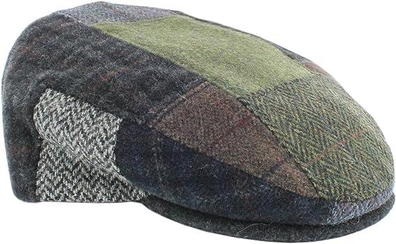 Mucros Weavers Mens Irish Made Trinity Patch Cap