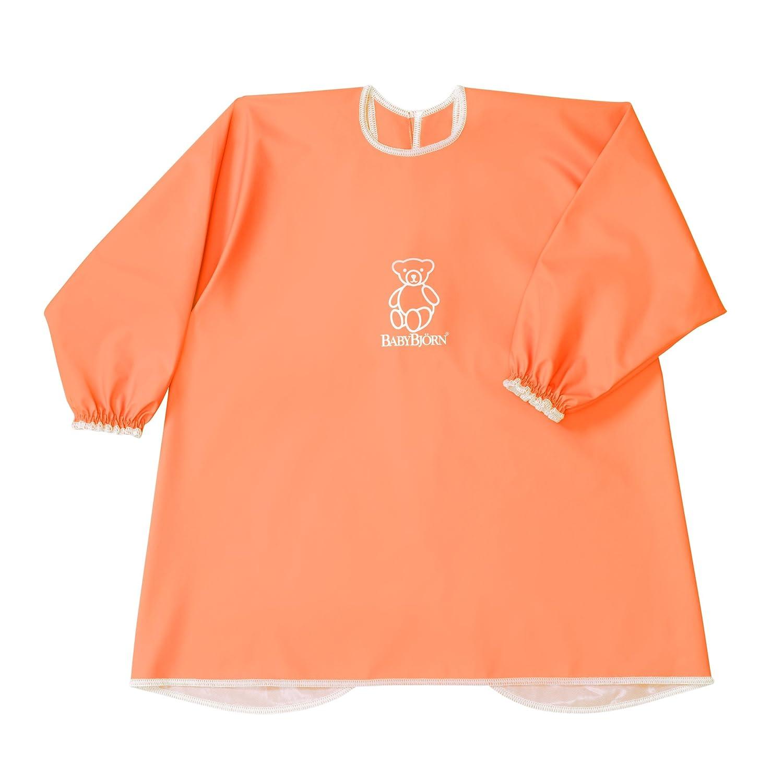 Orange BABYBJ/ÖRN Bavoir /à Manches Longues