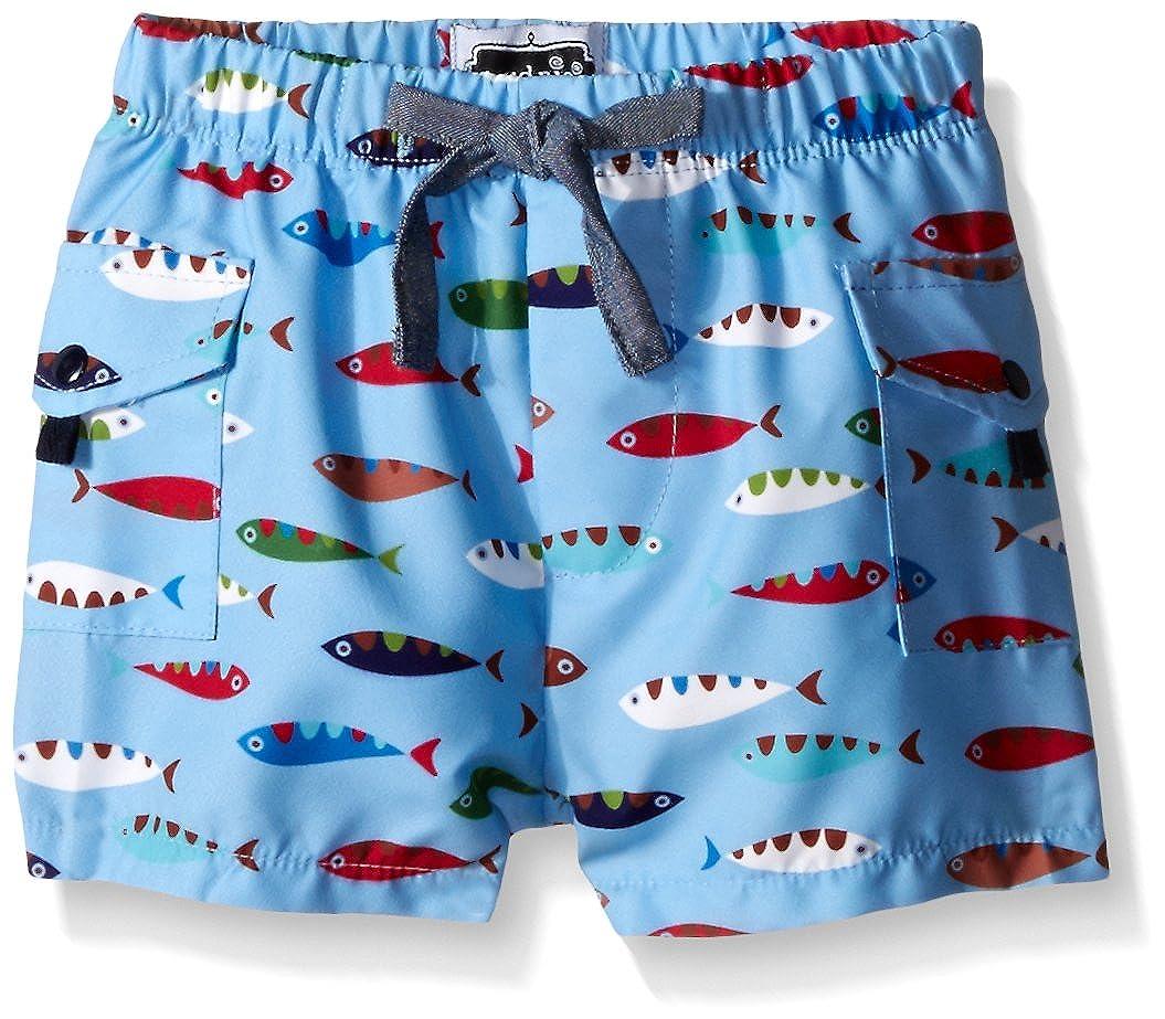 Mud Pie Baby Boys' Fish Swim Trunks Mud Pie Baby Fish Swim Trunks Multi 6-9 Months 1022105
